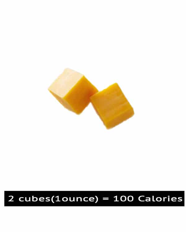 100 calories look like