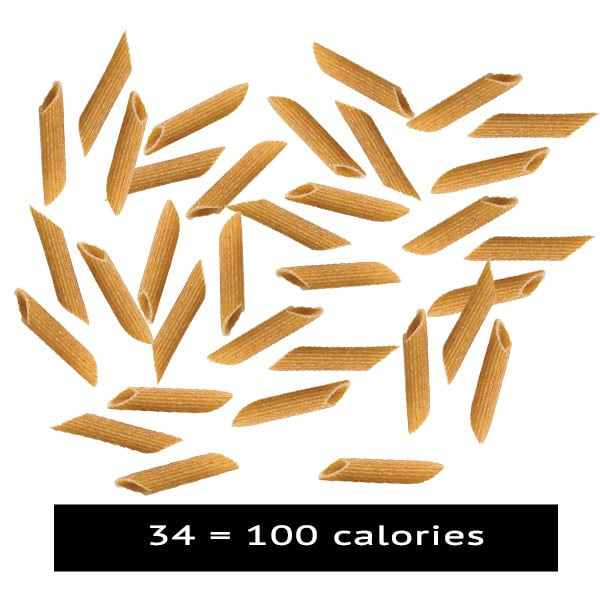 Whole Grain Penne 100 calories