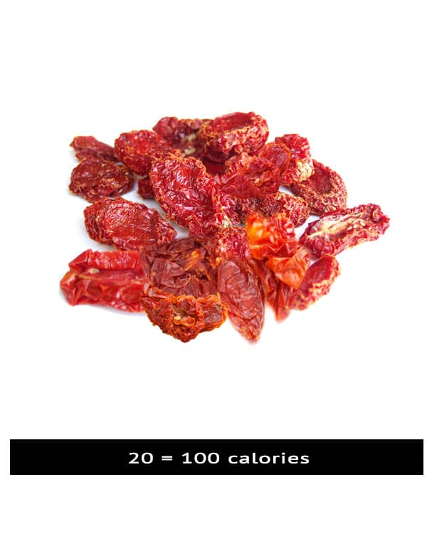 100 calories Sun dried Tomato
