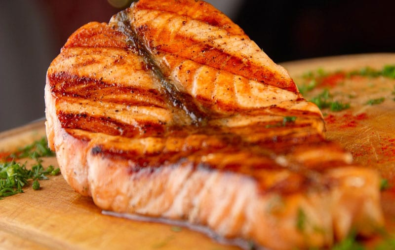 muscle foods salmon