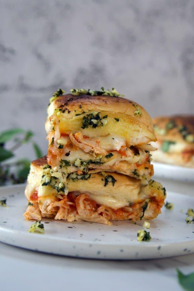 Chicken Parmesan Slider Recipe