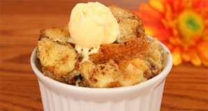 Bread Pudding in microwave