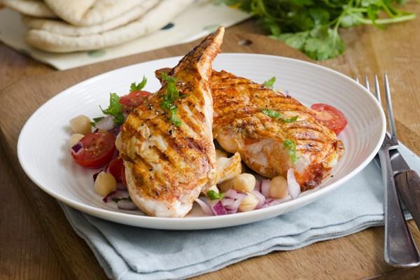 Grilled Garlic Lime Chicken