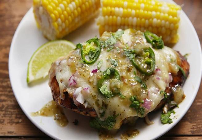 Grilled Salsa Verde Chicken