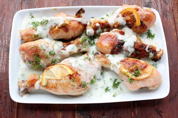 Grilled Lemon Yoghurt Chicken