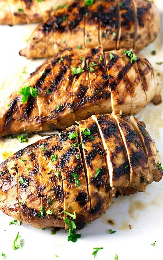 Delicious Marinated Chicken Breasts