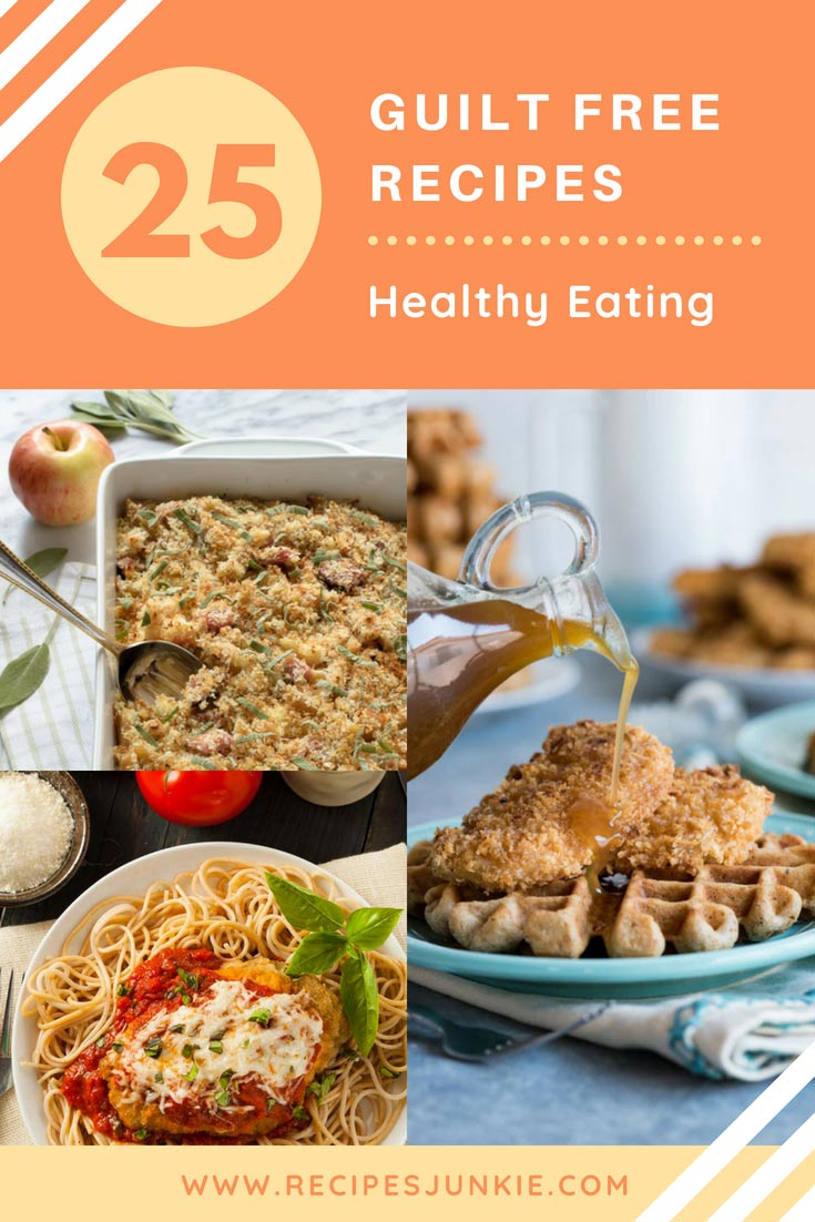 Skinny Comfort Food Recipes without worrying about the calorie counts