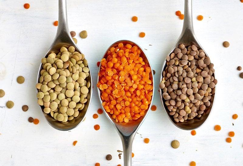 muscle foods lentils