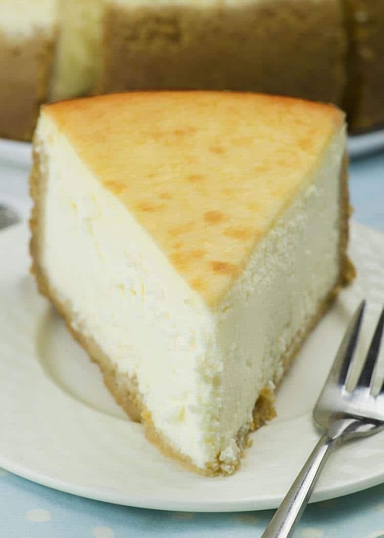 6-Inch New York Style Cheesecake