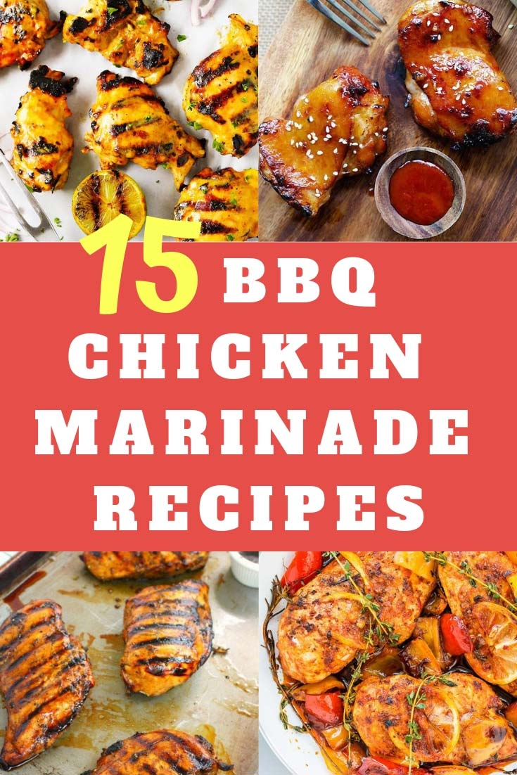 BBQ Chicken Marinade Recipes