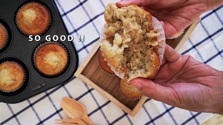 Incredibly Moist and Soft Banana Muffin