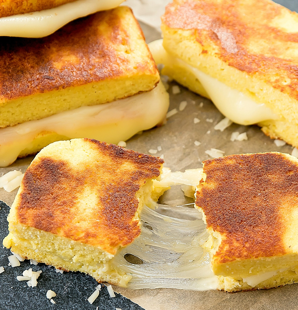 Low Carb Bread Grilled Cheese