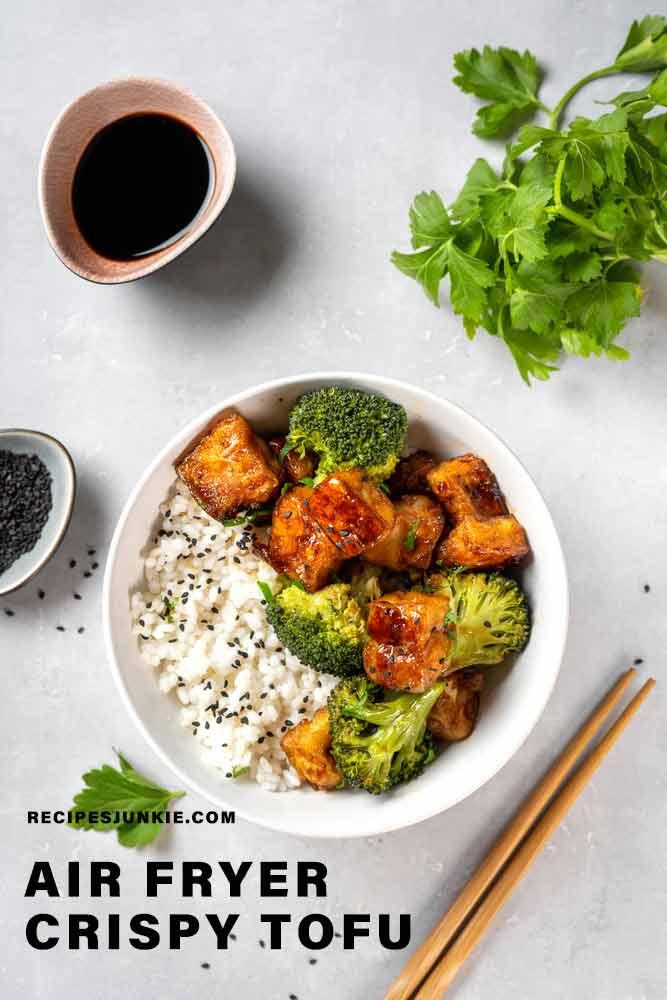 Air Fryer Crispy Tofu