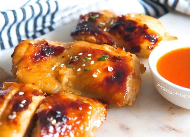 Honey-Sriracha-Garlic-chicken-Recipe