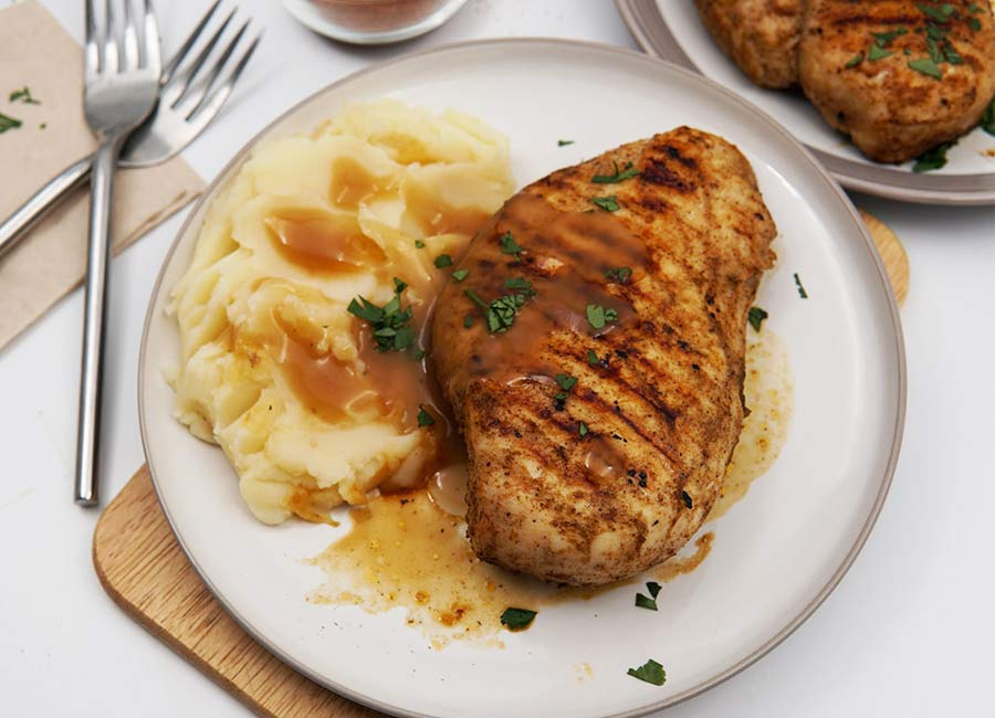 BBQ Cajun Spiced Chicken Recipe