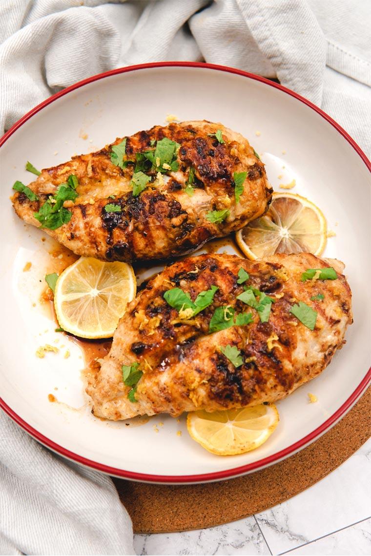 Easy Recipe- Lemon Dijon Garlic Grilled Chicken