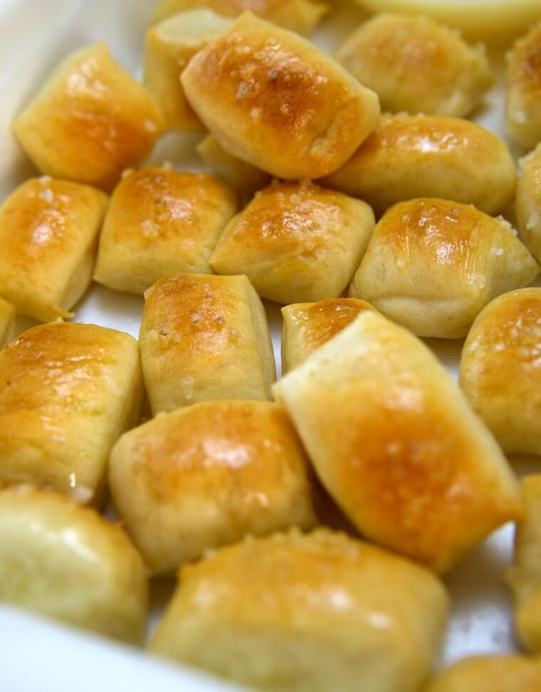 Easy to Make Soft Pretzel Bites, No Boiling